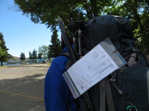 Glacier backcountry permits.